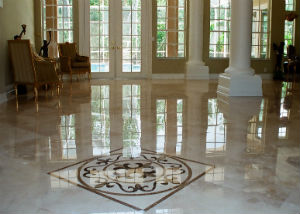 MSP marble floor polishing