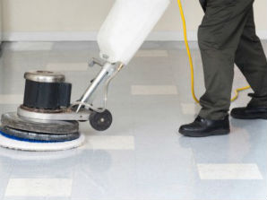 MSP Vinyl Tile Cleaning